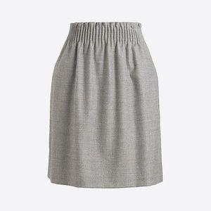 J. Crew Wool Sidewalk Skirt, 12